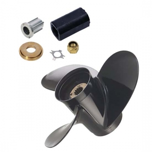 black diamond boat propeller 13.25 x 17 3rh and torq kit