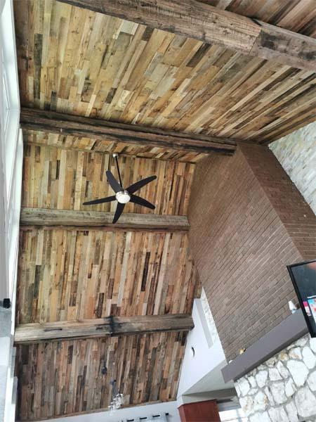 barn board beams